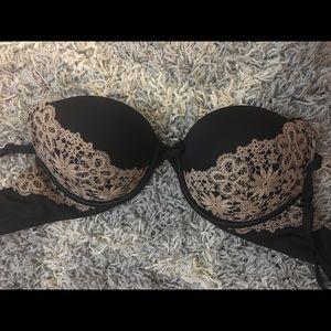 Lace and Black Victoria Secret Bra